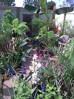 Bob Tridgett's winning garden at BBC Gardener of the Year 2007